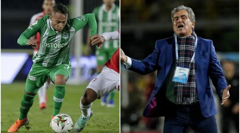 Jarlan Barrera y Jorge Luis Pinto