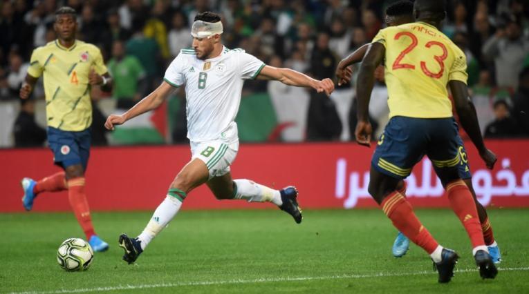 Colombia vs Argelia, partido amistoso