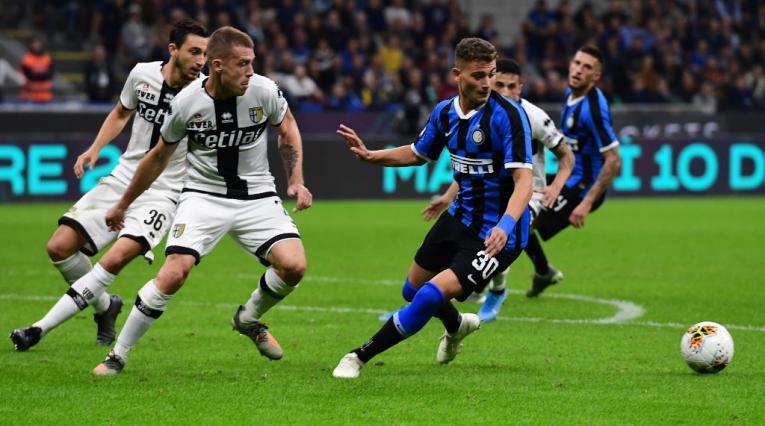 Inter vs Parma, Serie A de Italia