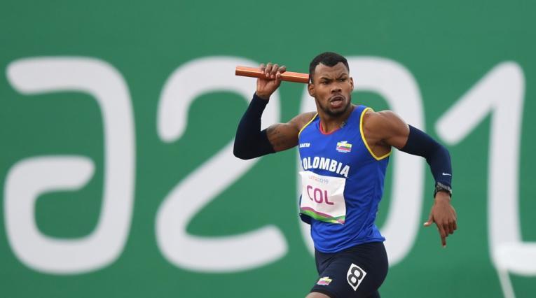 Anthony Zambrano, atleta colombiano