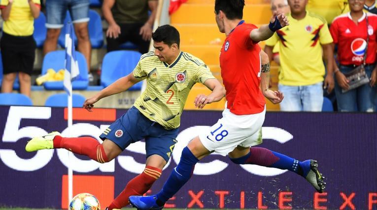 Colombia vs Chile, FECHA FIFA