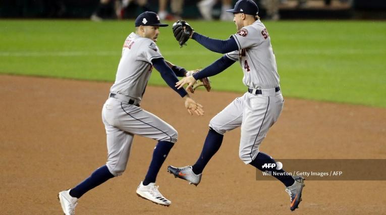 Astros vs Nacionales, cuarto partido 2019
