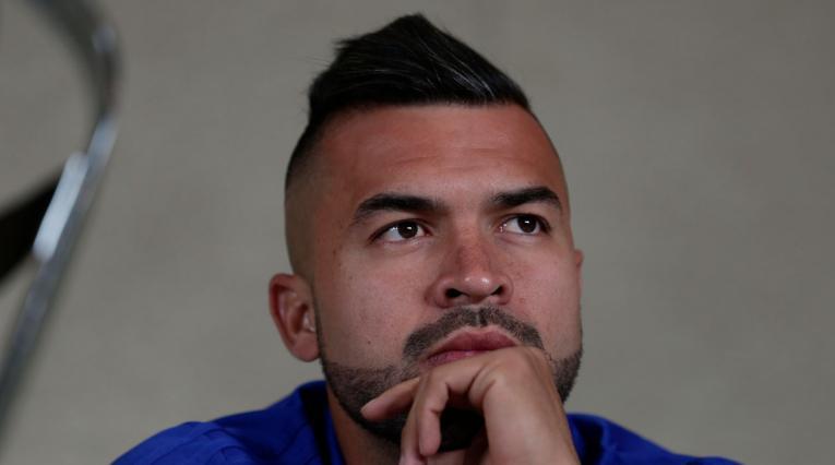 Andrés Cadavid, jugador profesional en el fútbol colombiano.