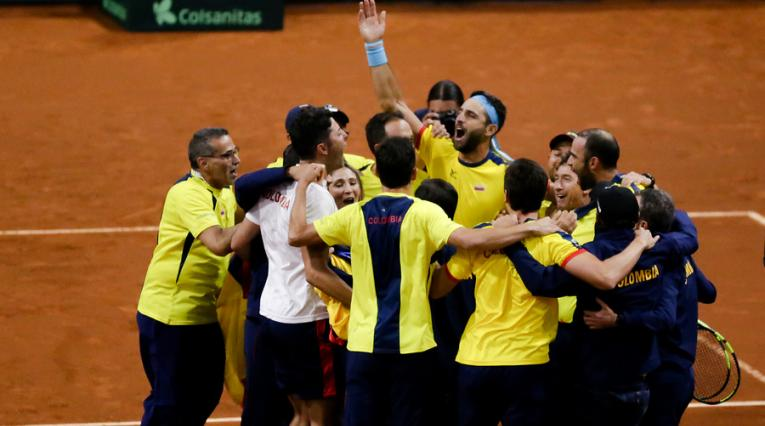 Copa Davis, Colombia