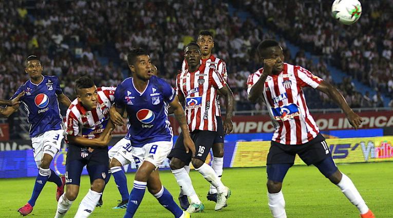Liga Águila, Millonarios vs Junior