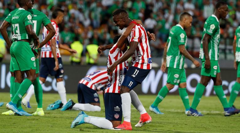Liga Águila, Nacional vs Junior