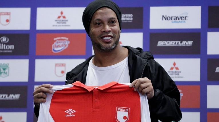 Ronaldinho, Colombia