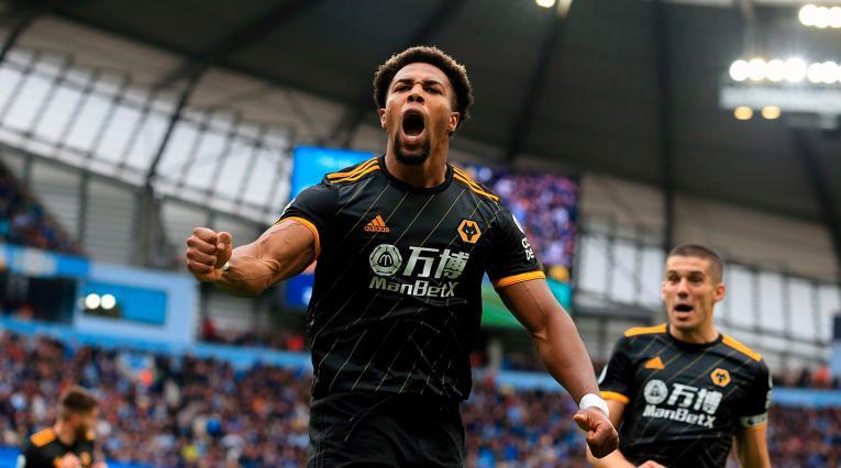 Adama Traoré, futbolista español de ascendencia maliense al servicio de Wolverhampton