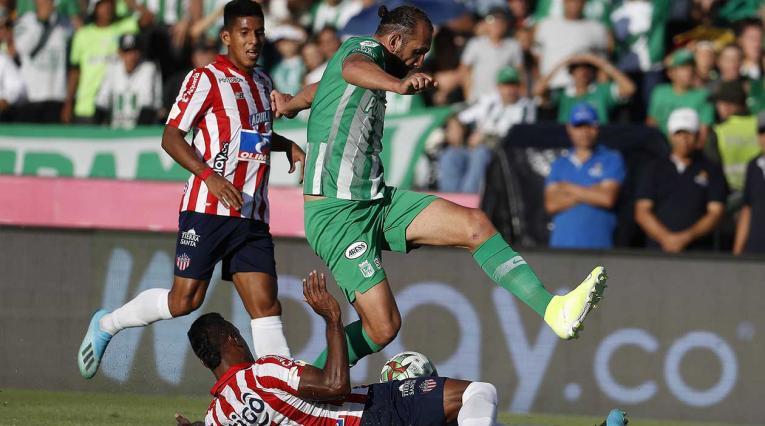 Atlético Nacional cayó con Junior en el Atanasio.