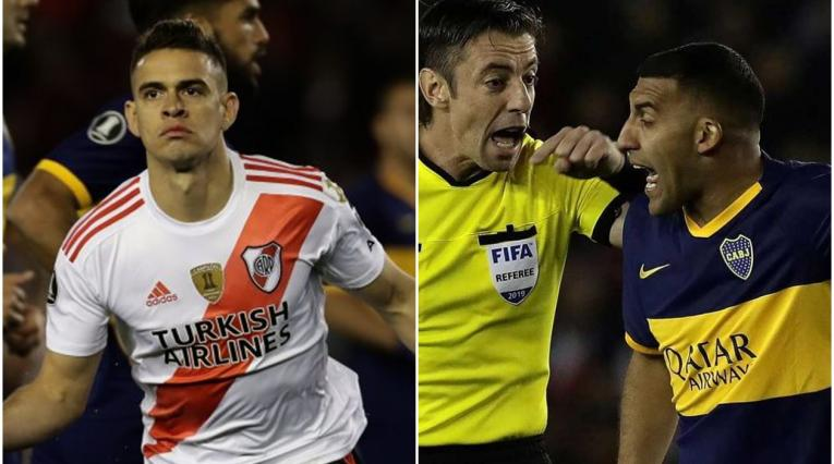 Rafael Santos Borré y 'Wanchope' Ábila