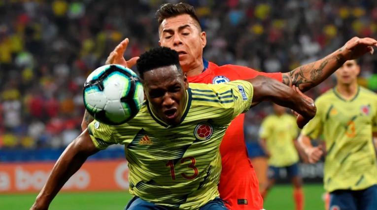 Colombia vs Chile, Copa América