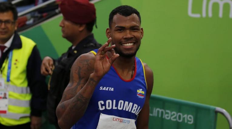 Anthony Zambrano, Mundial de Atletismo