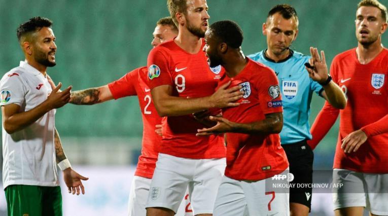 Bulgaria vs Inglaterra por la Eurocopa 2020.