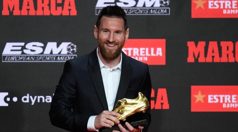 Lionel Messi - Bota de Oro