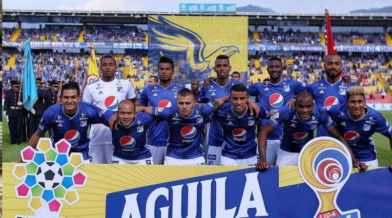 Millonarios, equipo formado Liga Águila II