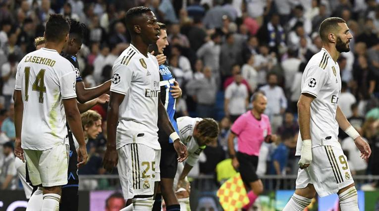 Real Madrid, tras perder ante Brujas