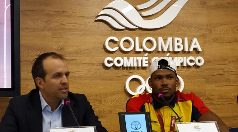 Anthony Zambrano, atleta colombiano