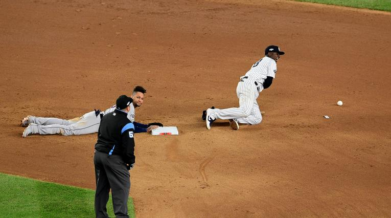 Los Yankees enfrentando a los Astros en Nueva York