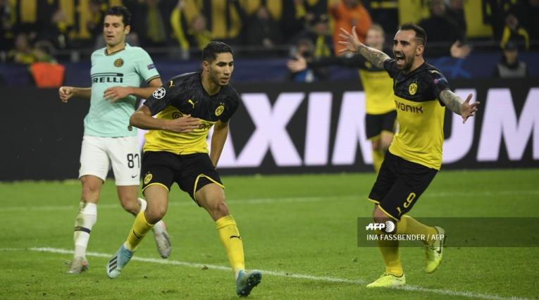 Borussia Dortmund vs Inter de Milán - Champions League 2019