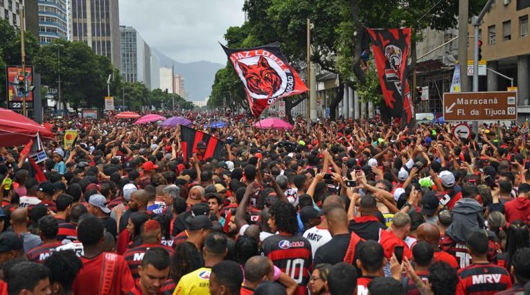 Flamengo, recibimiento, Copa Libertadores