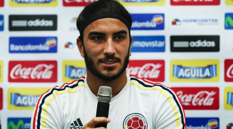 Sebastián Pérez, mediocampista colombiano