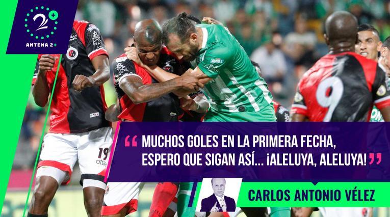 Palabras Mayores, Carlos Antonio Vélez