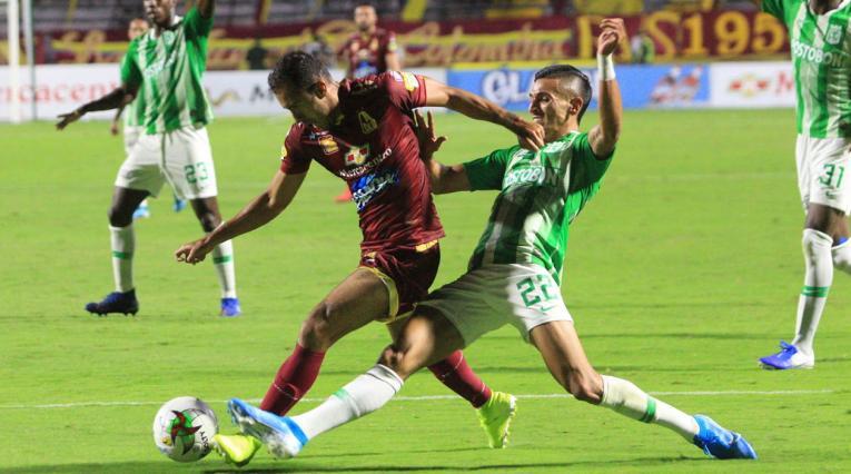 Deportes Tolima vs Atlético Nacional, Liga Águila