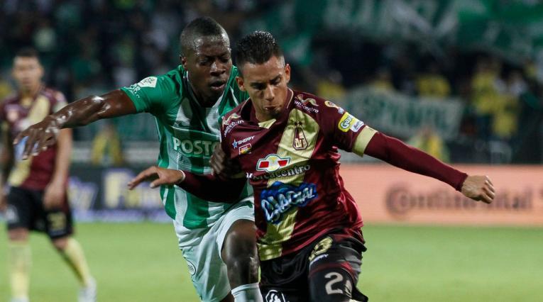 Atlético Nacional vs Deportes Tolima, Liga Águila