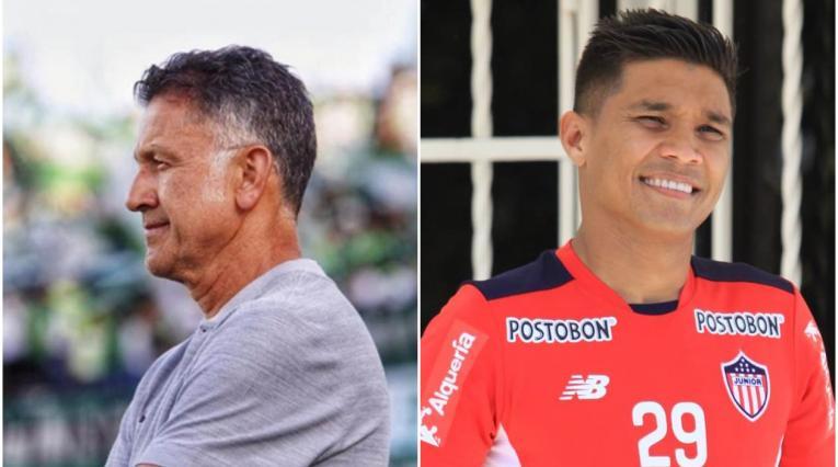 Juan Carlos Osorio y Teófilo Gutiérrez