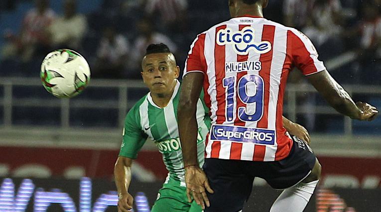 Vladimir Hernández, Junior vs Nacional