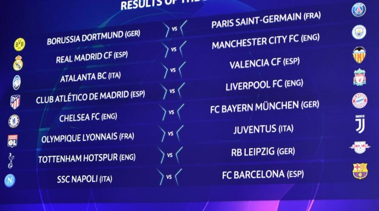 Octavos de final Champions League