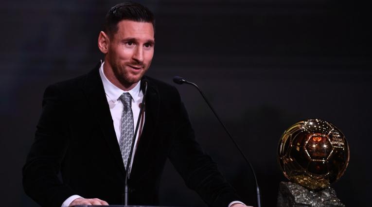 Lionel Messi Balón de Oro