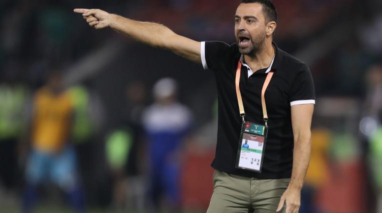 Xavi Hernández, entrenador español