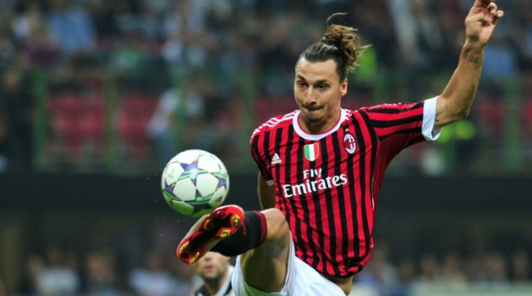 Ibrahimovic, delantero del Milan