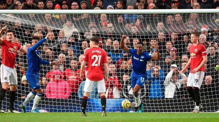 Everton, Manchester United, Premier League, Yerry Mina