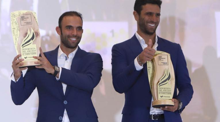 Juan Sebastián Cabal y Robert Farah - Deportista del Año