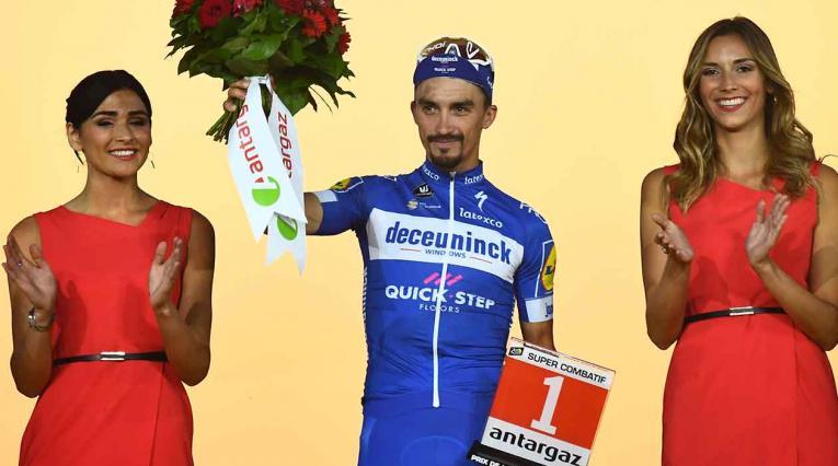 Julian Alaphilippe ha sido el ciclista elegido como ganador del Vélo d'Or (Bicicleta de Oro)
