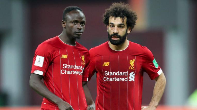 Mohamed Salah y Sadio Mané
