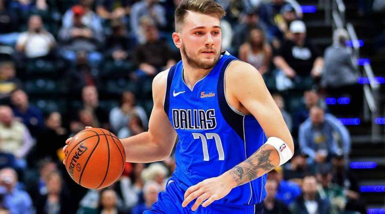 Esloveno Doncic, jugador del equipo de Dallas