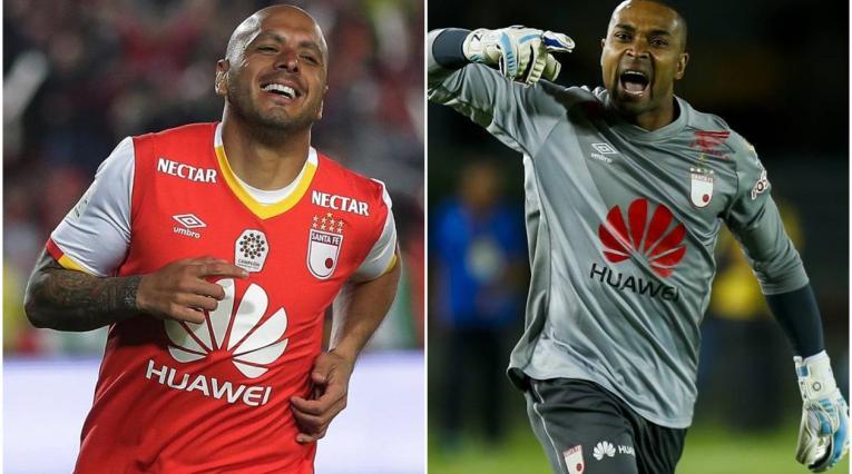 Omar Pérez a 'Rufay' Zapata en Independiente Santa Fe