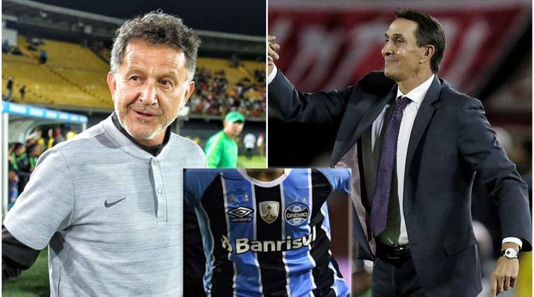 Osorio y Guimarae, técnicos de Nacional y América