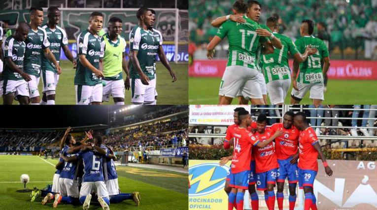 Colombianos en Sudamericana
