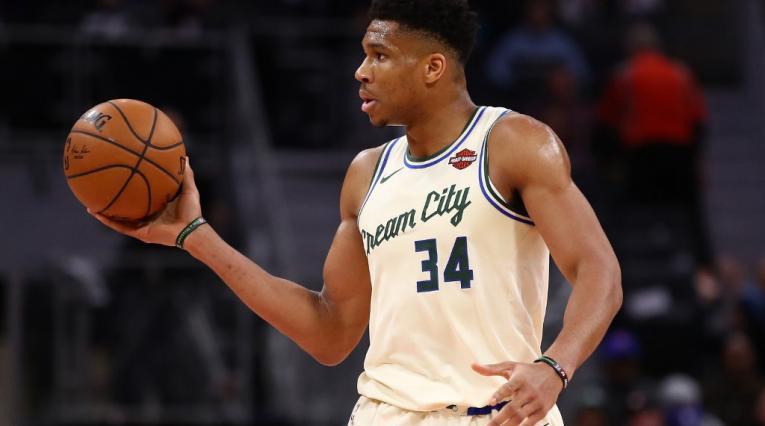 Giannis Antetokounmpo, Bucks de Milwaukee, NBA