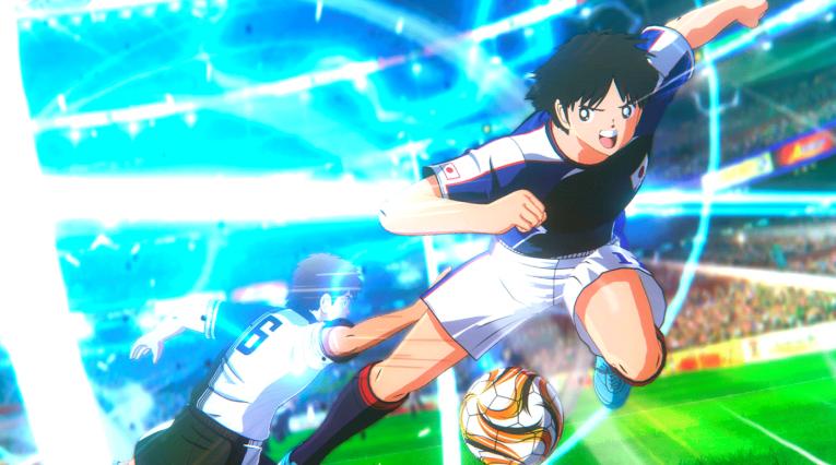 Oliver Atom juega con la selección de Japón en los Súper Campeones