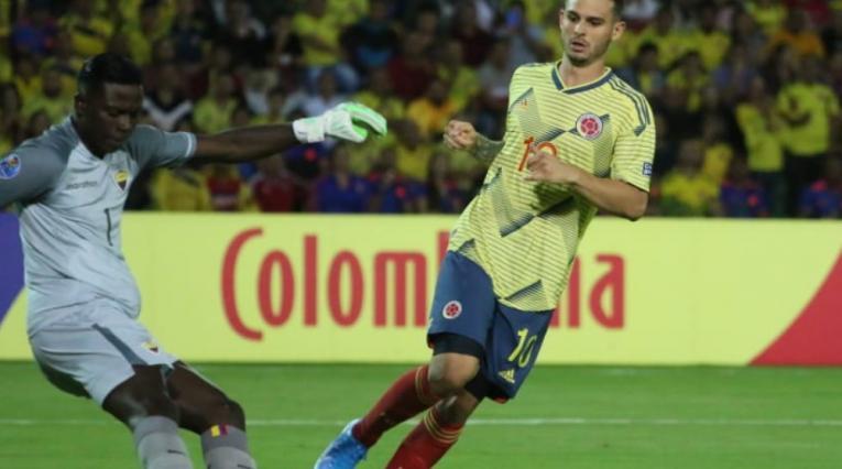 Nicolás Benedetti, jugador de la Selección Colombia Sub-23