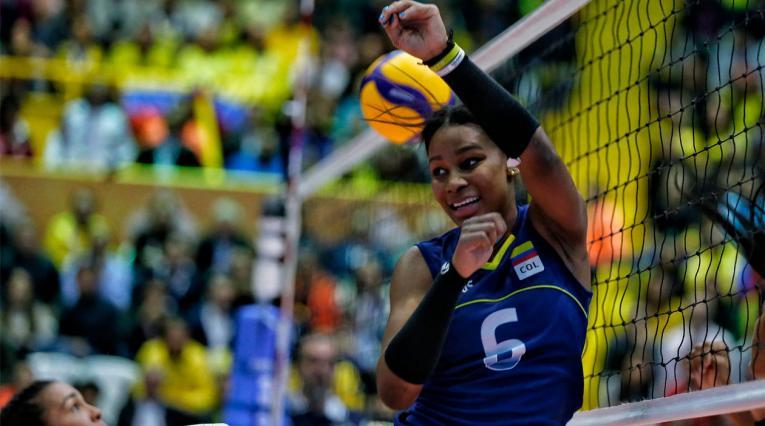 Colombia, Preolímpico de voleibol femenino