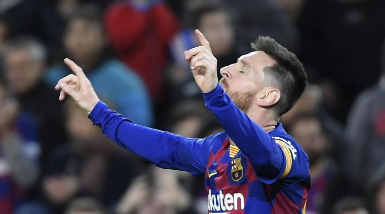 Lionel Messi, Barcelona 2020