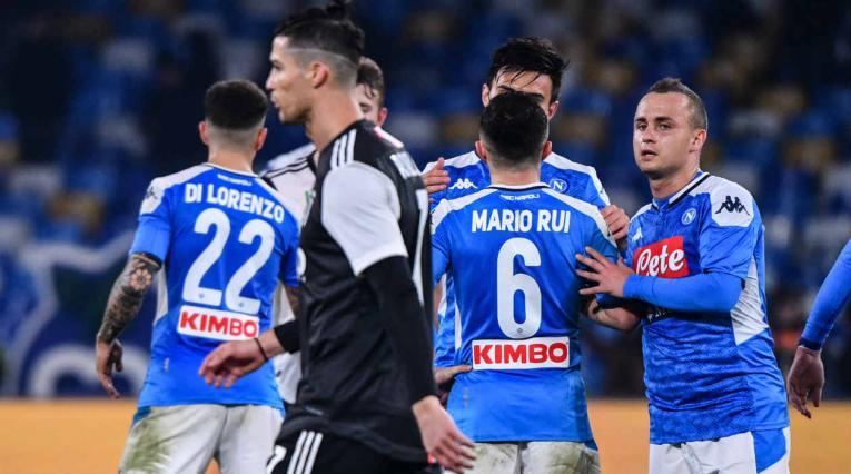 Napoli venció a Juventus