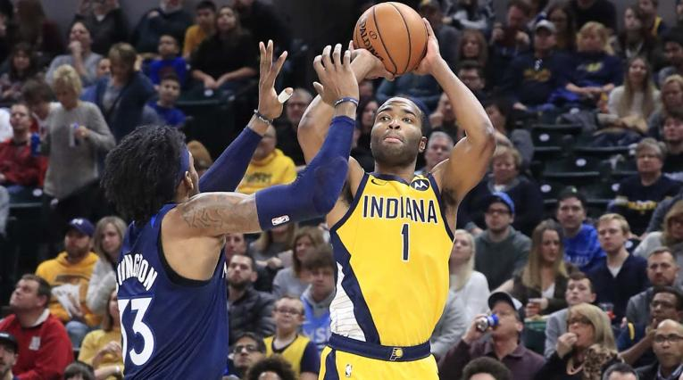 Pacers sorprenden a Nuggets