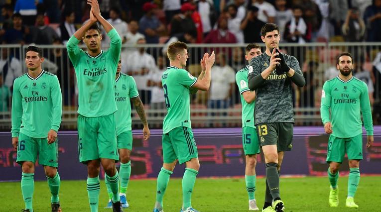 Real Madrid jugará la final de la Supercopa